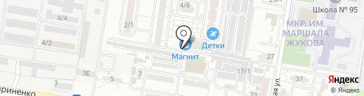 Верный друг на карте Краснодара
