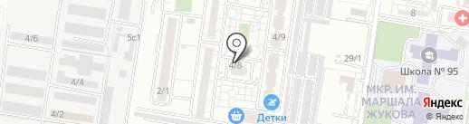 Благодать на карте Краснодара