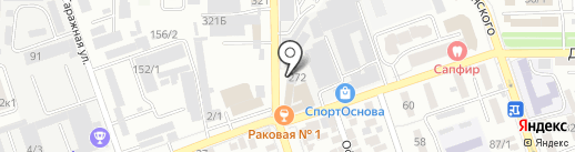 Винил на карте Краснодара