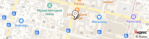 Этно Эра на карте Краснодара