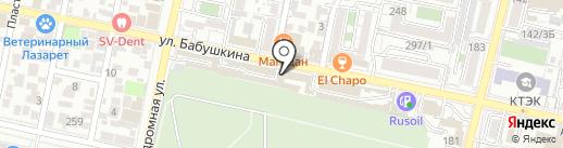 КОМПАНИЯ М на карте Краснодара