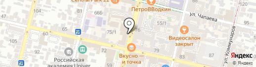 Золото & Серебро на карте Краснодара