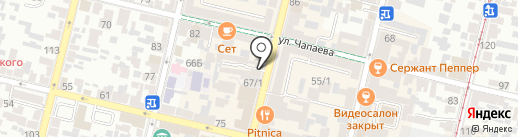 Ноль Плюс на карте Краснодара