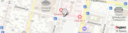 Церковная лавка на карте Краснодара