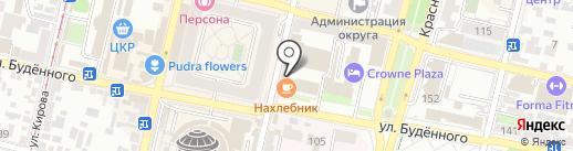 Нива Кубани на карте Краснодара
