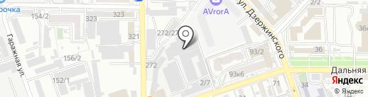 Burger smoke bar на карте Краснодара