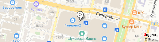 Kassir.ru на карте Краснодара