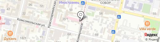 Удачный выбор на карте Краснодара