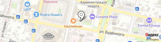 Академия бокса Артема Лаврова на карте Краснодара