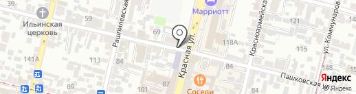 Ремонт Айфон Краснодар на карте Краснодара