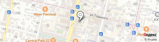 Beauty studio MK на карте Краснодара