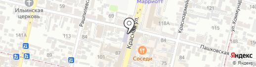 Центр финансовой грамотности на карте Краснодара