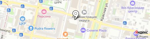 Shukhov Hostel на карте Краснодара