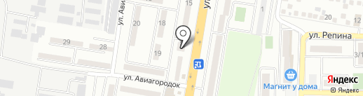 Кристалл на карте Краснодара
