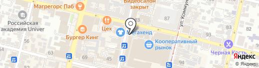 Ташкент Шаурма на карте Краснодара