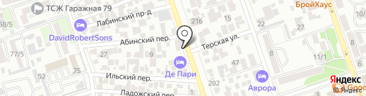 FLOROOM на карте Краснодара