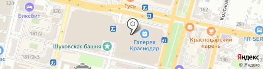 Куаффюр на карте Краснодара