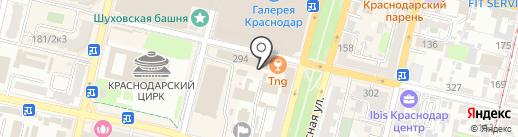 Salsa club на карте Краснодара