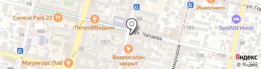 Неделя Кубани на карте Краснодара