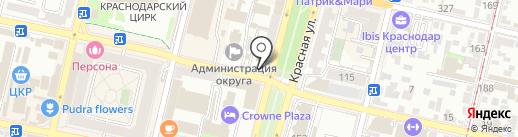Качество на карте Краснодара