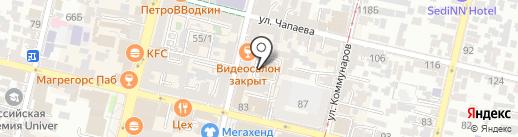 Клетка на карте Краснодара