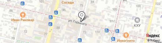 Мир антенн на карте Краснодара