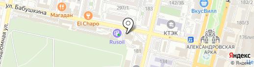 СТС-Екатеринодар на карте Краснодара