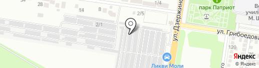 BASS93 на карте Краснодара