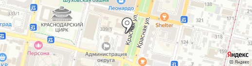 Pro Sushi на карте Краснодара