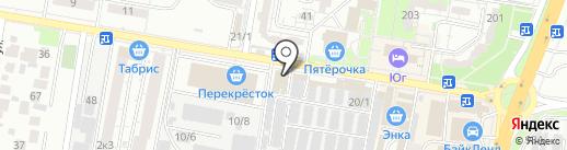 КЗМС-АВРОРА на карте Краснодара
