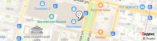 Банкомат, Райффайзенбанк на карте Краснодара