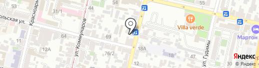 Ваш повар на карте Краснодара