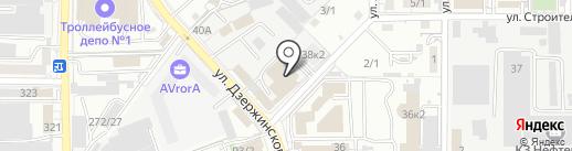 КлиматТехСервис на карте Краснодара