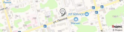 На здоровье на карте Новотитаровской