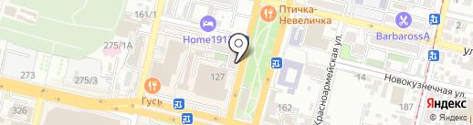 Аркади на карте Краснодара