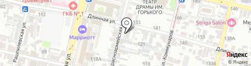 LifeKRD на карте Краснодара
