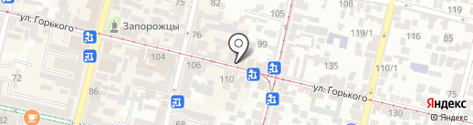 Fiori на карте Краснодара