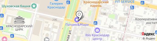Кроп-пиво на карте Краснодара