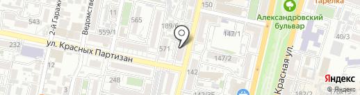 DJUAN_BEAUTY на карте Краснодара