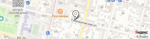 Юг Times на карте Краснодара