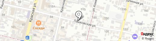 Перспектива.КР на карте Краснодара