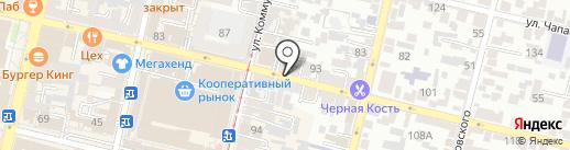 РегионИнвестСервис на карте Краснодара