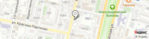 Бусы & усы на карте Краснодара