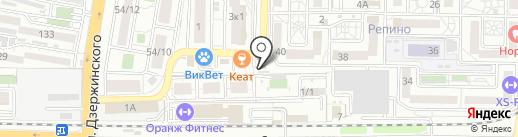 Радуга на карте Краснодара