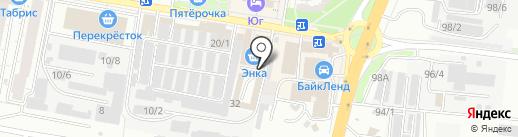 Энка на карте Краснодара