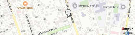 ГАМАК на карте Краснодара