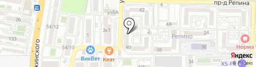 МЕЛИХОВ на карте Краснодара