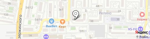 Компания по оптовой продаже изделий из дерева на карте Краснодара