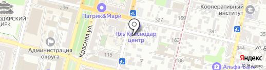 SASHA на карте Краснодара