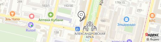 КОМТЕЛ на карте Краснодара